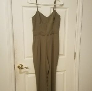 Stylish Army Green Jumpsuit
